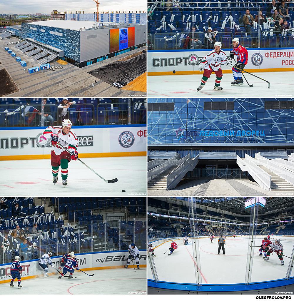 Репортажная фотосъёмка хоккея. ВТБ Ледовый Дворец. Кубок Легенд.