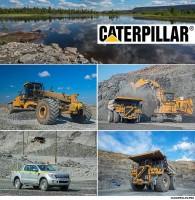 Рекламаня фотосъемка для CATERPILLAR
