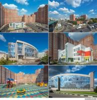 Архитектурная фотосъемка жилых комплексов