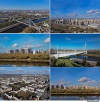 Аэросъемка города Тюмень / Архитектурная фото и аэросъемка в городе