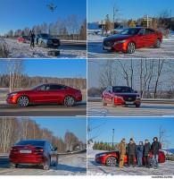 Рекламная фотосъемка автомобиля MAZDA