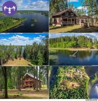 Аэрофотосъемка и архитектурная съемка курорта на озере Селигер