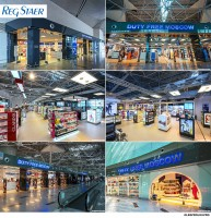 Интерьерная съемка магазинов Duty Free в аэропорту Внуково