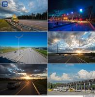 Рекламная фотосъемка трассы М11