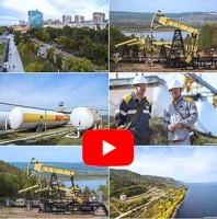 Промышленная фото, видео и аэросъемка на объекте Роснефть. Промышленная аэросъемка.