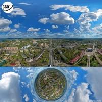 Панорамная аэрофотосъемка / вирутальный тур