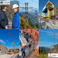 Промышленная фотосъемка Саяно-Шушинской ГЭС