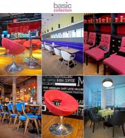 Рекламная фотосъемка мебели в ресторанах для Basic Collection (Hungary)