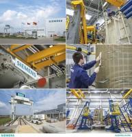 Промышленная и репортажная съемка на предприятии Siemens