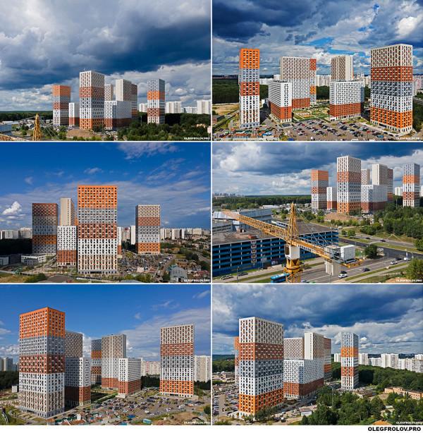 Аэросъемка жилых комплексов / Фотосъемка недвижимости