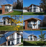Архитектурная фотосъемка в коттеджном поселке