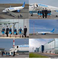 Авиакомпания Победа / Фото и аэросъемка в аэропорту