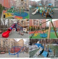 Игровые площадки / Фотосъемка детских комплектов для игр