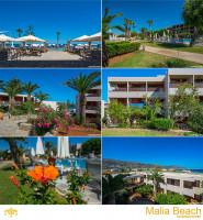 Malia Beach Hotel / Фотосъёмка отеля в Греции