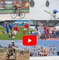 Видеосъемка спортивных мероприятий. Аэровидеосъемка.