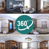 Панорамная фотосъемка интерьеров квартир и коттеджей