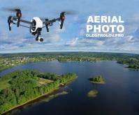 Аэросъемка (фото и видео) территорий, курортов, баз отдыха
