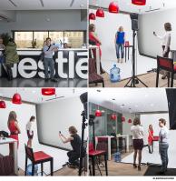 Backstage / фотосъемка для Nestle.