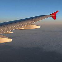 Фотосъёмка из иллюминатора самолёта