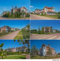 Архитектурная и интерьерная фотосъёмка коттеджных посёлков