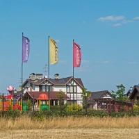 Панорамная фотосъёмка коттеджного посёлка