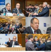 AEB с Сергеем Лавровым