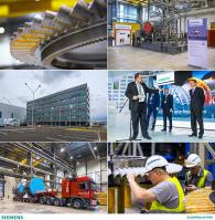 Промышленная съемка завода Siemens