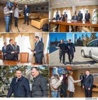 Репортажная фотосъемка  у губернатора Свердловской области. / протокольная фотосъемка