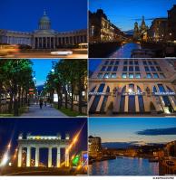 Архитектурная и видовая фотосъемка ночного Санкт-Петербурга