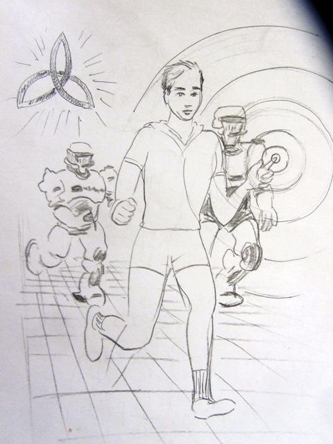 23 чёрно-белые и 1 цветная иллюстрация для книги (конкурс) фото f_48359bf9024c3cbc.jpg