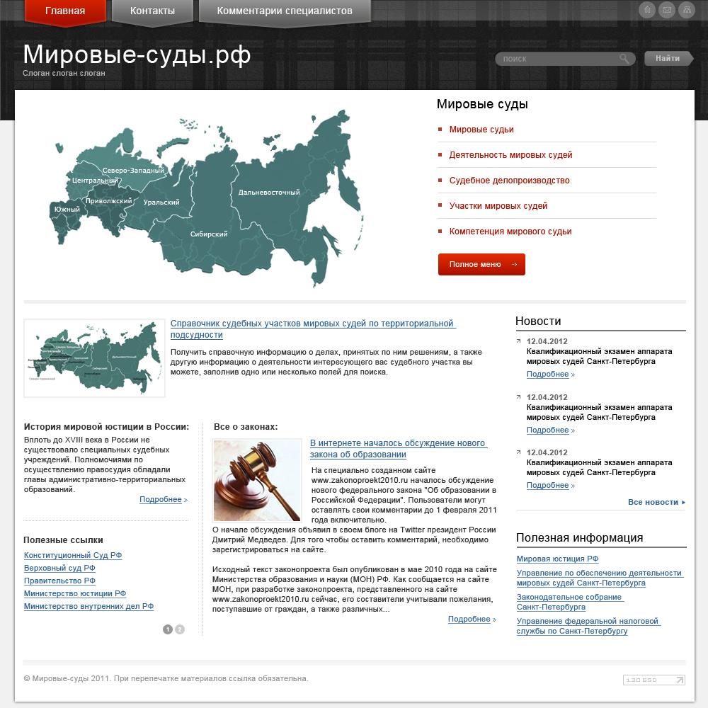 Мировые суды.рф