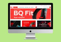 Магазин телефонов BQ (Битрикс)