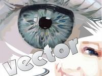 Разработка, доработка, отрисовка логотипов, портретов (в векторе)