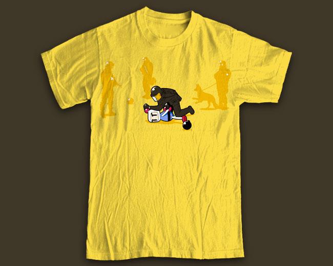 """Принт на футболку """"Counter Terrorists"""""""