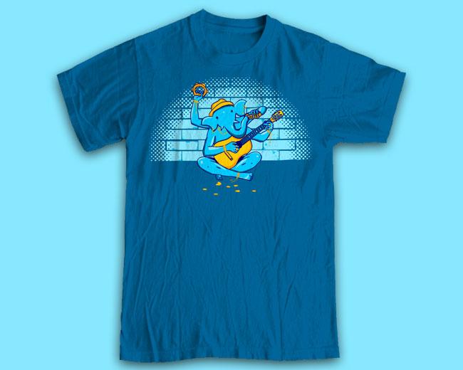 """Принт на футболку """"Ганеш"""""""