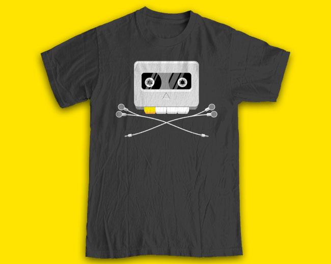 "Принт на футболку ""OldSkull"""