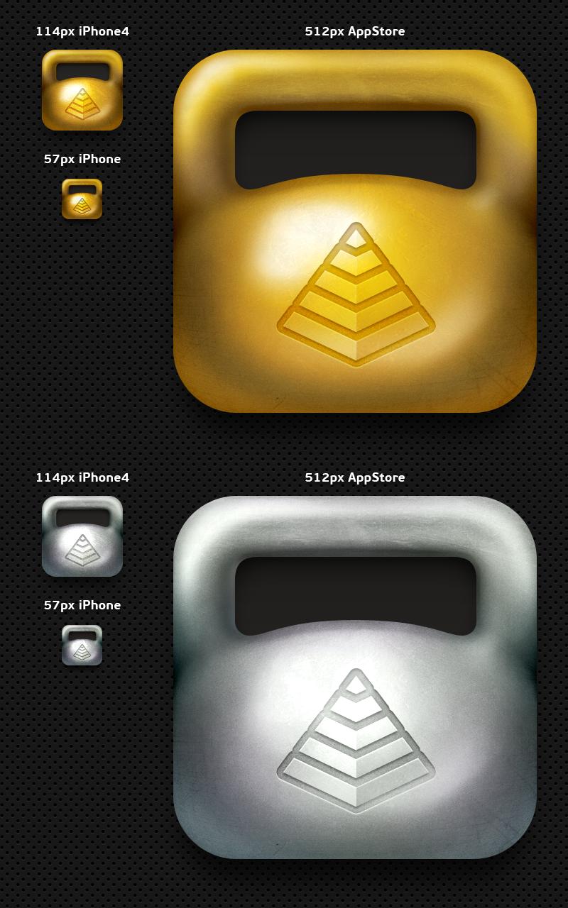 YouGifted. Набор иконок для iPhone