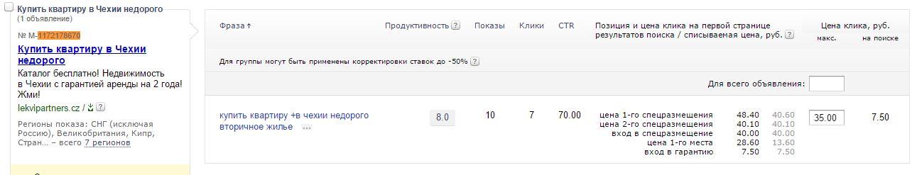 CTR 70%