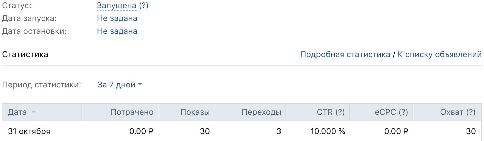 Бесплатные клики при CTR 10% - и такое бывает)