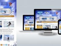 Дизайн сайта (1 страница)