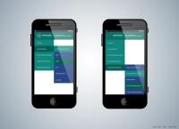 Дизайн мобильной версии брокерского сайта (элементы, меню)