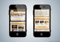 Дизайн мобильной версии сайта Камни Карелии