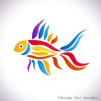 Логотип аквариум