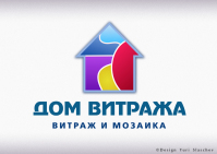 Логотип витражной мастерской