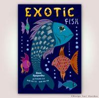 Флаер «Exotic fish»