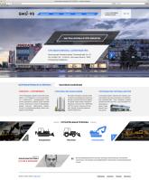 Сайт для строительной компании(верстка и установка на CMS)