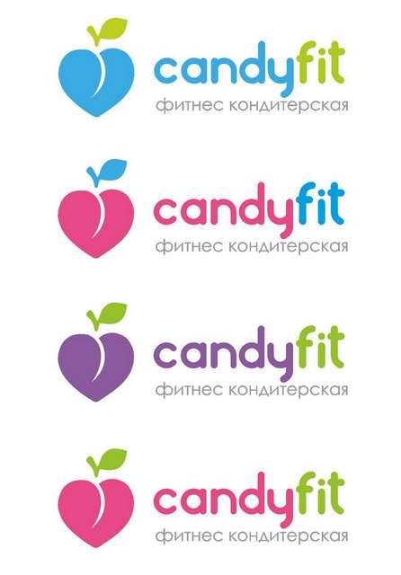 "Разработать логотип для ""CandyFit"" фото f_46051e14632cca0e.jpg"