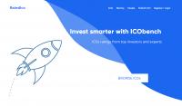 Ui/ux design сайта для ICO