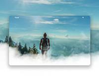 ui/ux design для сайта о путешествиях