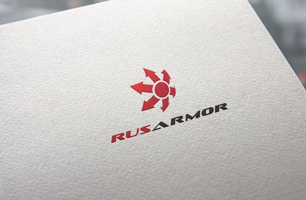 Разработка логотипа технологического стартапа РУСАРМОР фото f_2075a0dc1d60fe2b.jpg